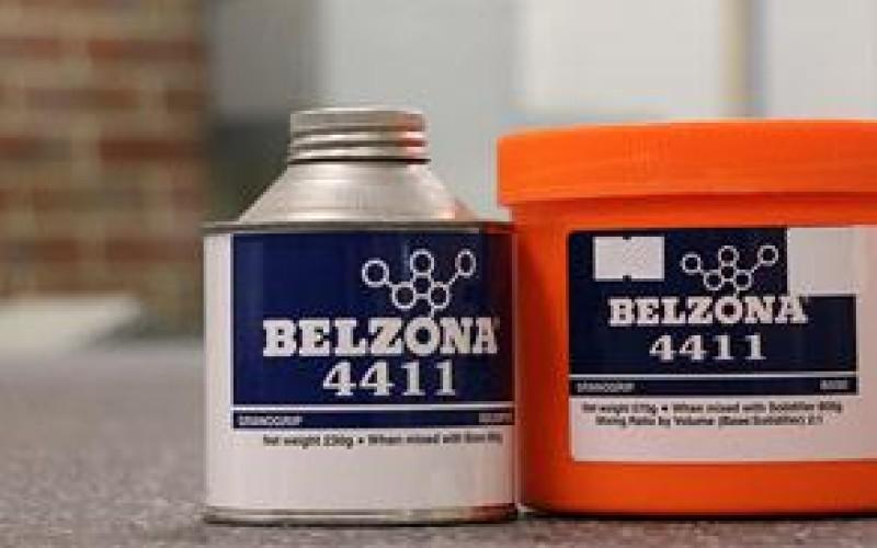 Belzona 4411 (Granogrip) packaging
