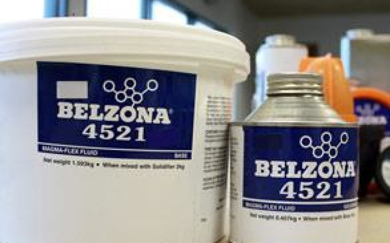 Belzona 4521 (Magma-Flex Fluid) packaging