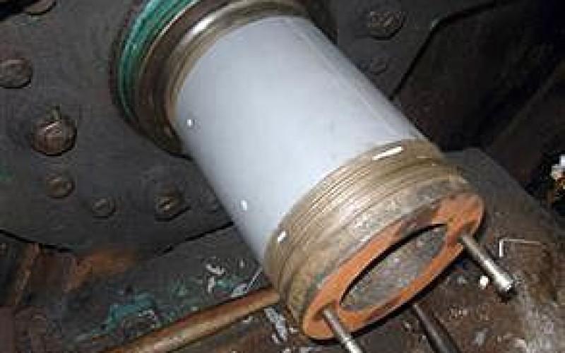 Large diameter shaft repair
