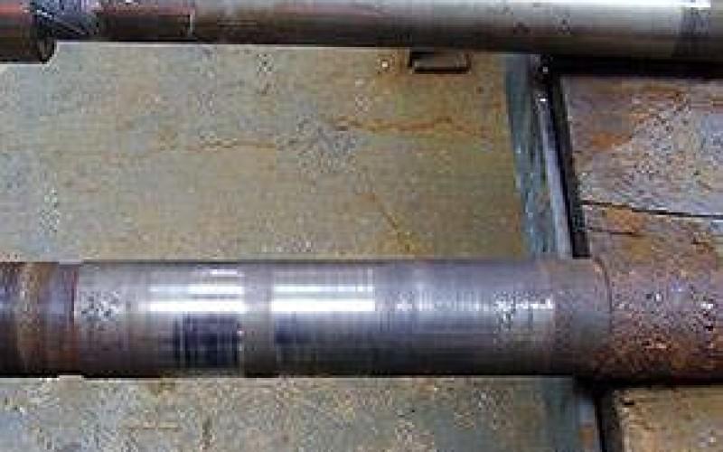 Damaged shaft