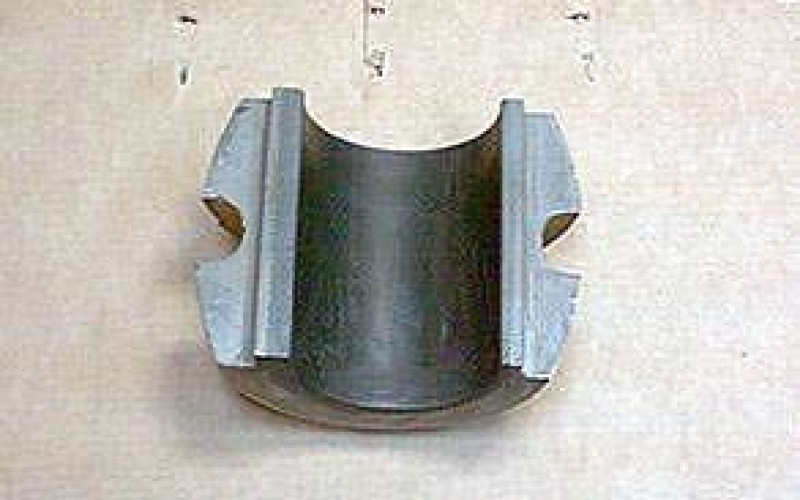 Repaired friction bearing