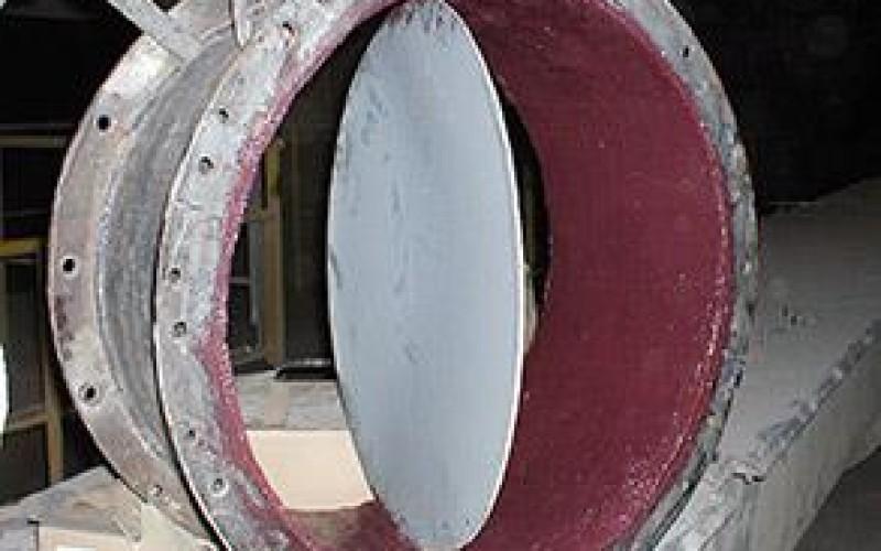 Valve protected with Belzona 1811 (Ceramic Carbide)