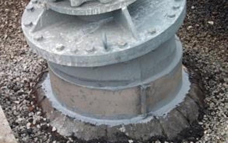 Plates bonded with Belzona 1831 (Super UW-Metal)