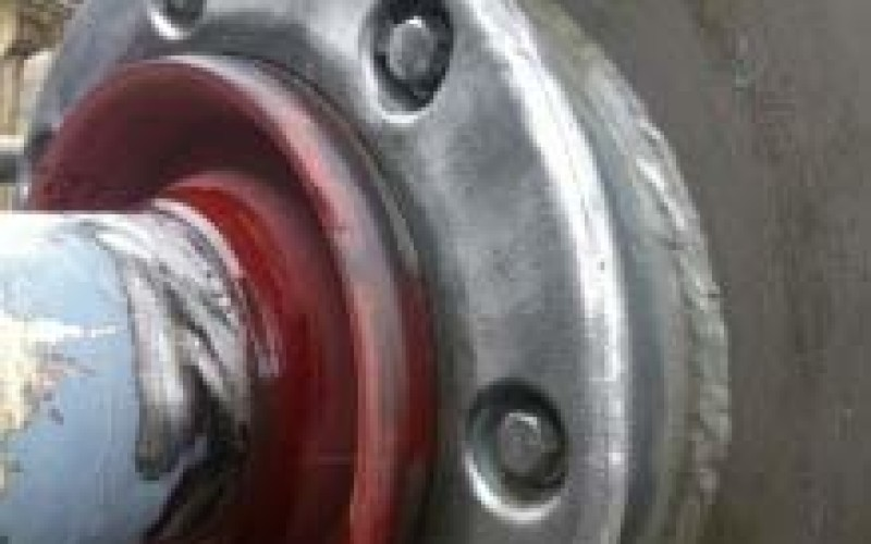 Leaking flange joints