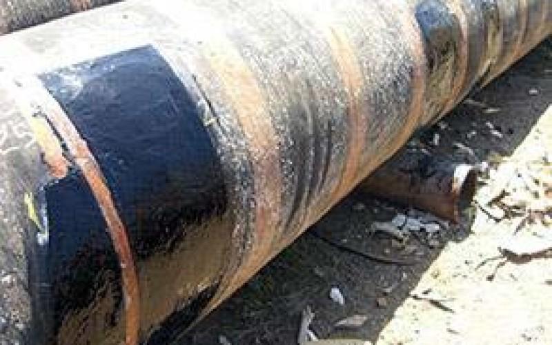 Floating hose repaired using Belzona 2131 (D&A Fluid Elastomer)