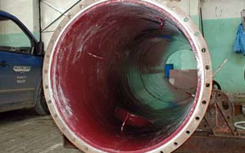 Belzona 4331 (Magma CR3) applied to protect the tower from aggressive chemicals