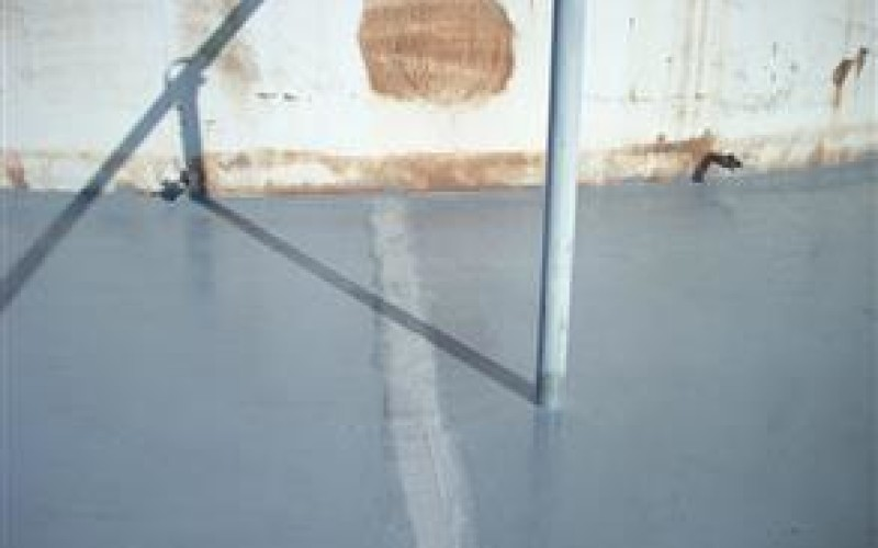 Leaking expansion joint in secondary containment area
