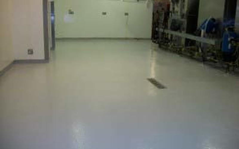 Belzona 5231 (SG Laminate) used to provide slip resistant kitchen flooring