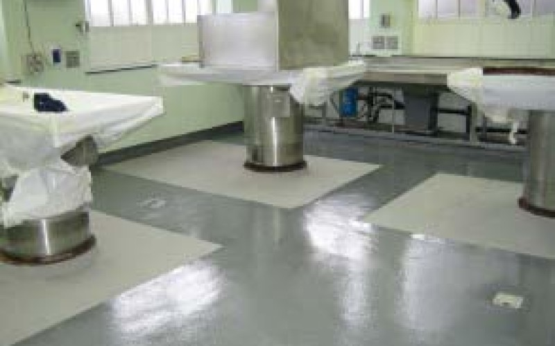 Floor restored and protected using Belzona 5231 (SG Laminate) over just one weekend