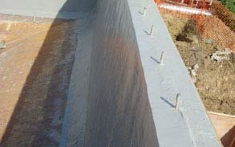 Concrete restored and tank protected against future damage using Belzona 5811 (Immersion Grade)