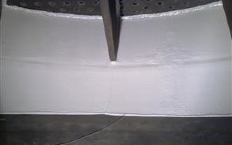 Original lining coated with Belzona 5891 (HT Immersion Grade)