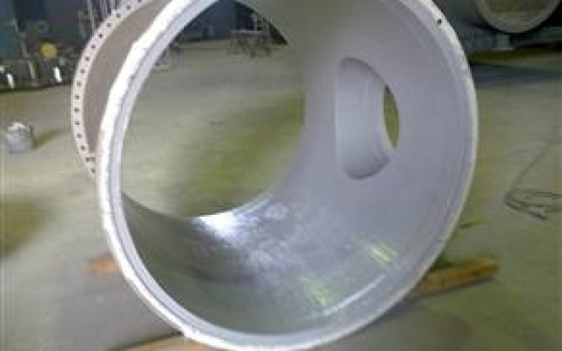 Belzona 5891 (HT Immersion Grade) applied for corrosion protection