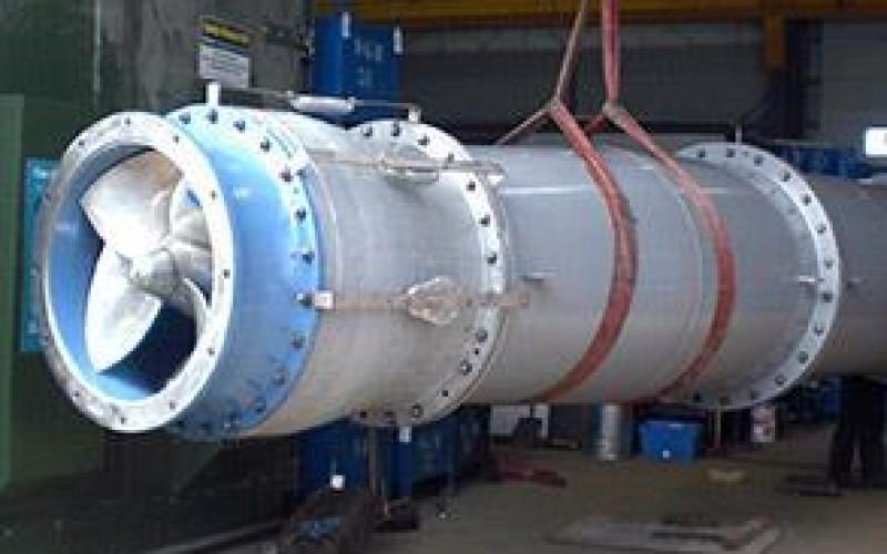 Cooling water pump refurbished