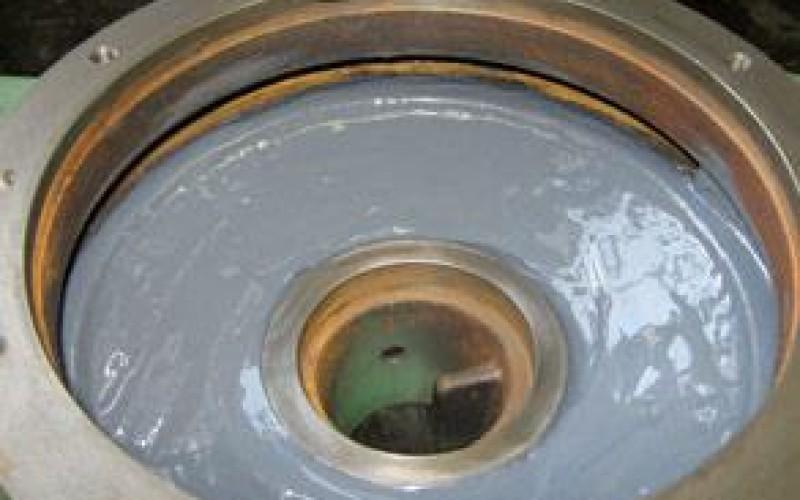 Erosion and corrosion protection using Belzona 1391 (Ceramic HT)