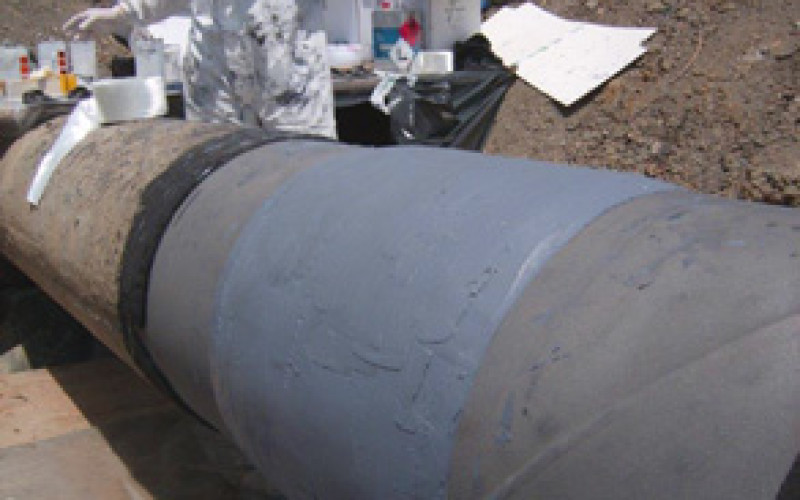 Composite pipe wrap